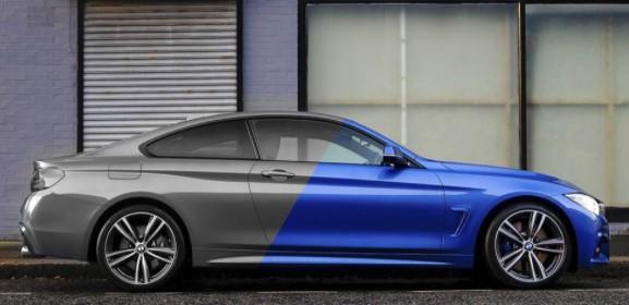 Cambio color de coche